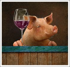 Wine with The Swine
