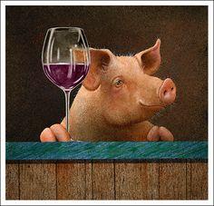 Wine with the Swine